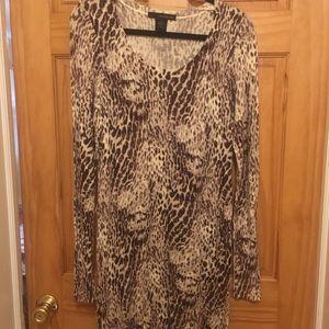 Women's long sleeve sweater dress